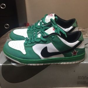 ... sale nike shoes heineken nike low dunk sb size 9.5 a4eea 01d10 4c31a511038b